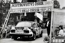 Závod Rallye Teplice