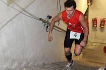 Běh do schodů na Božák v Teplicích.