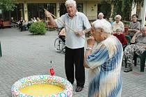 Hry v bystřanském domově důchodců