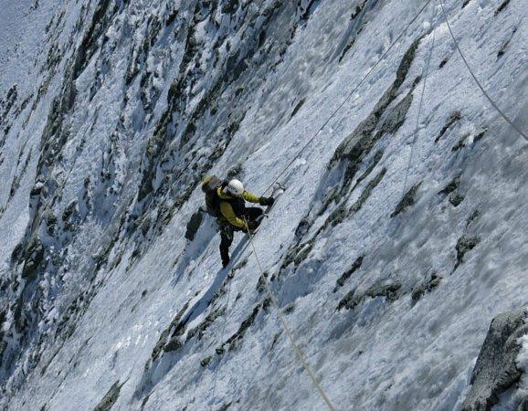 Příprava na expedici… Lezení na severní stěně Matterhornu.