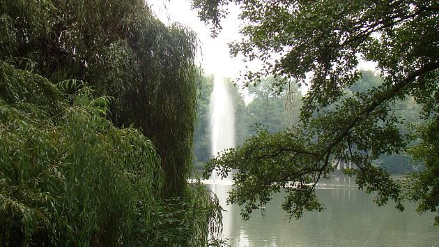 Zámecký rybník Teplice