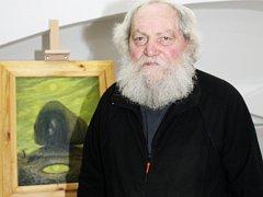 Malíř Herbert Kisza.