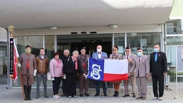 Ústecký kraj si připomněl Památný den sokolstva