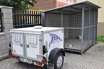 Na zaběhnuté psy má MP Duchcov nový přívěsný vozík