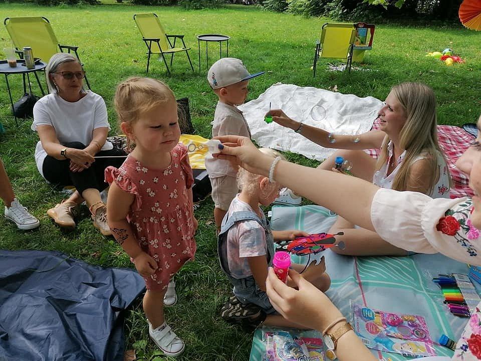 Piknik v Zámecké zahradě v Teplicích.