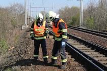 Srážka vlaku s člověkem. Ilustrační fotografie.