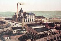 Knížecí pivovar v Teplicích - podoba v dobách největší slávy
