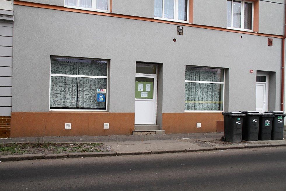 Nízkoprahové denní centrum Květina v Denisově ulici v Teplicích