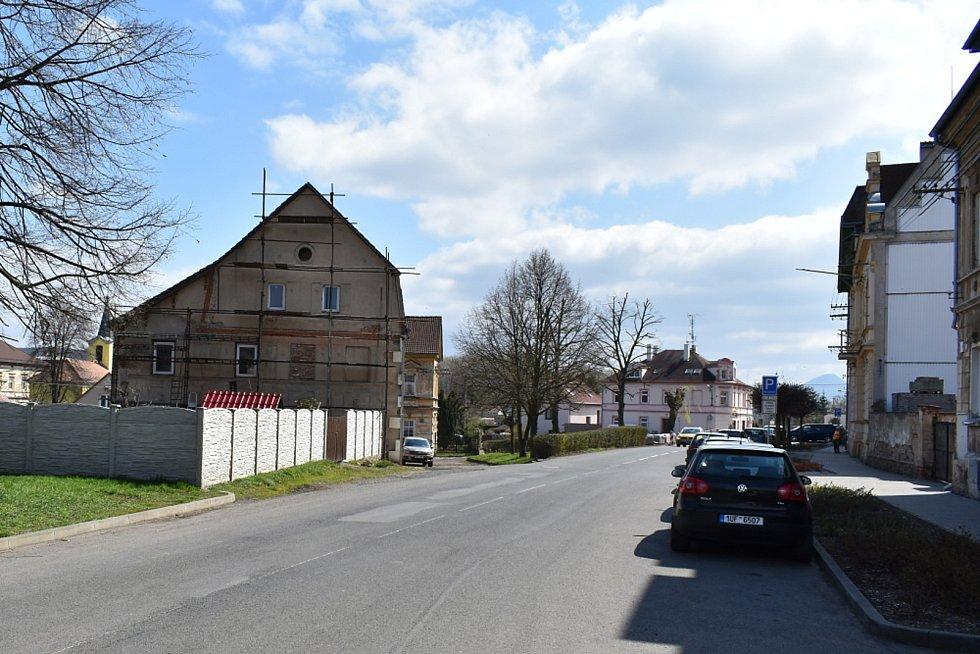 Obec Lahošť