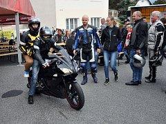 Loučení s motorkářskou sezonou pořádal Motorkářský klub Novosedlice.