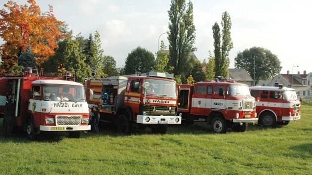 Den otevřených dveří u hasičů v Oseku