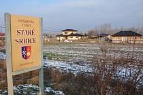 Obec Srbice - lokalita zvaná Staré Srbice.