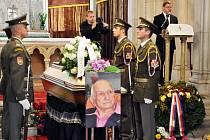 Pohřeb plukovníka v. v. Demetera Senického