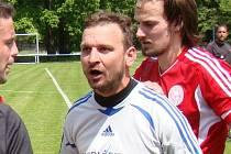 Michal Račuk, brankář a předseda TJ Proboštov.