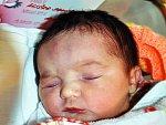 Eliška Sanitriková se narodila Kateřině Sanitrikové z Drahkova 16. října v teplické porodnici v 22,57 hodin. Měřila 48 cm, vážila 3,00 kg