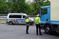 Dopravní policisté se zaměřili na nákladní dopravu.