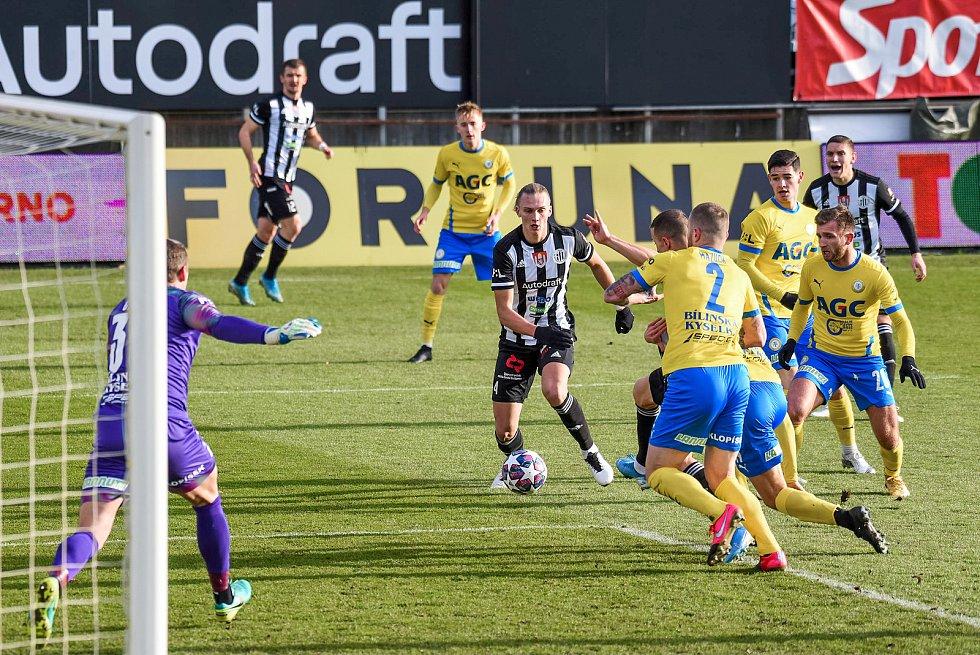 Fortuna liga, fotbal, Dynamo České Budějovice - FK Teplice Foto: Deník/ Dan Kubát)