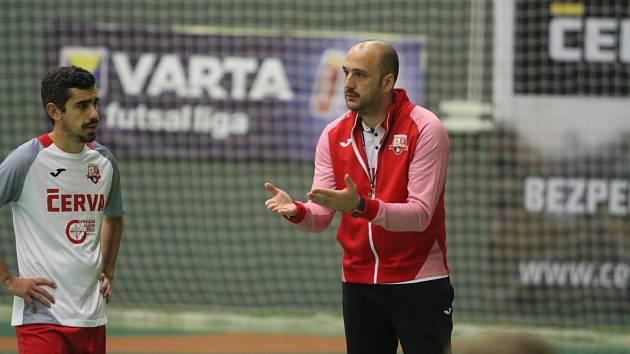 Trenér Svarogu Eloy Alonso