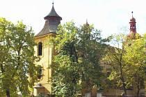 Kostel v Křemýži.