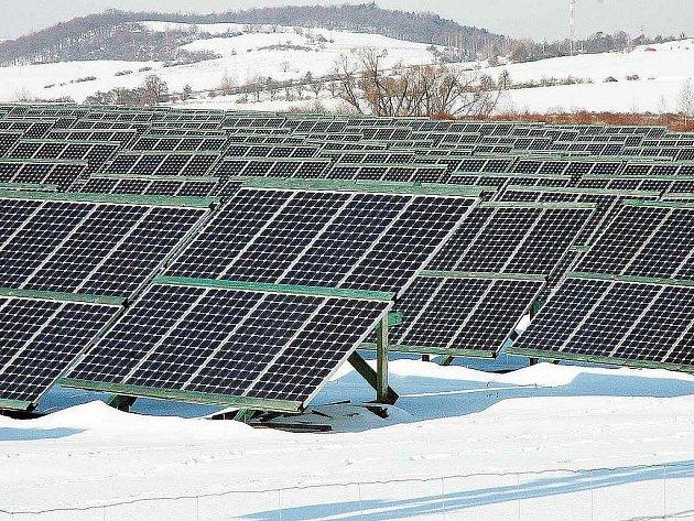 Solární elektrárna v Žalanech na Teplicku