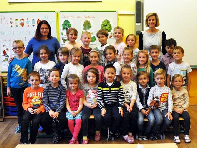 Na fotografii jsou žáci ze ZŠ Metelkovo náměstí, Teplice, 1.Atřída paní učitelky Michaely Vorlíčkové, asistentka Lenka Mauleová.