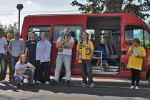 Fanklub na cestě do Olomouce