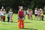 Děti z Teplicka jsou na táboře v Mladoticích na Plzeňsku, tábor pořádá Dům dětí a mládeže v Bílině.