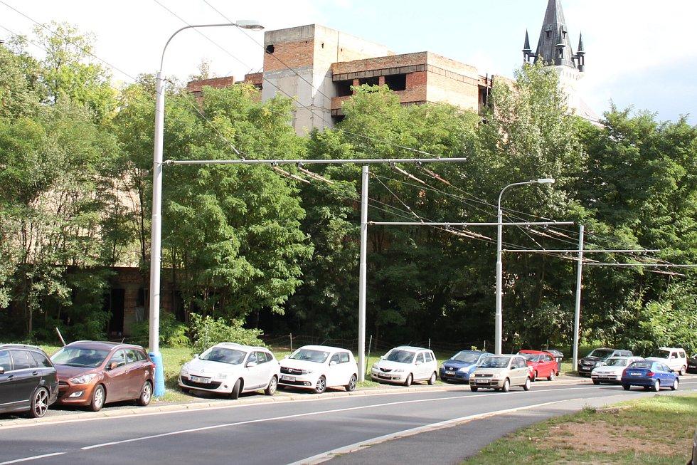 Mlýnská ulice v Teplicích