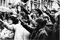 Listopad 1989 v Teplicích část 2.