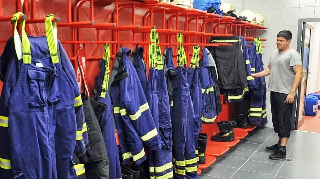 Nová hasičská zbrojnice v Dubí