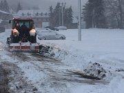 SC Bouřňák též zasypal sníh. 9. 1. 2019
