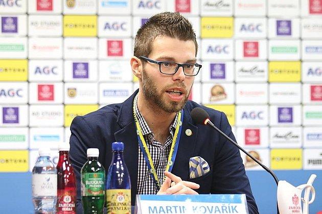 Martin Kovařík zTeplic, vášnivý hráč golfu a také milovník fotbalu