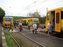 Trať 097 Teplice - Lovosice. Nádraží Úpořiny