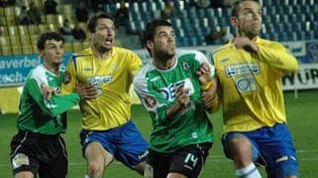 Utkání FK Teplice s FK Jablonec