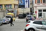 Přepadení zlatnictví v Krupské ulici a uzávěrka centra města.