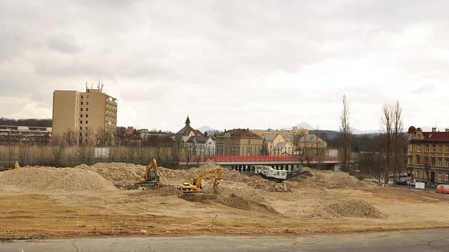 Demolice zimního stadionu je u konce.