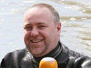 Instruktor potápění Eduard Šíf