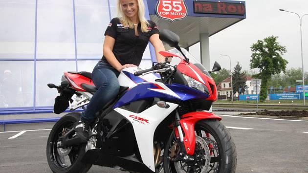 Otevření nové prodejny pro motorkáře