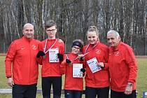 Duchcovští atleti byli v Jablonci úspěšní
