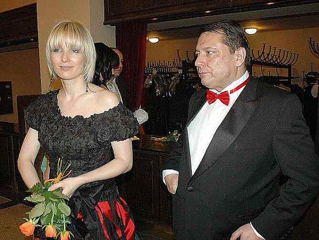 Jiří Paroubek s manželkou
