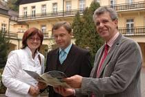 Dubský starosta s německou návštěvou