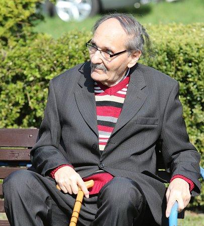 František Lederer, jeden zposledních pamětníků holocaustu.