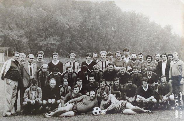 Jiskra Košťany v80. letech