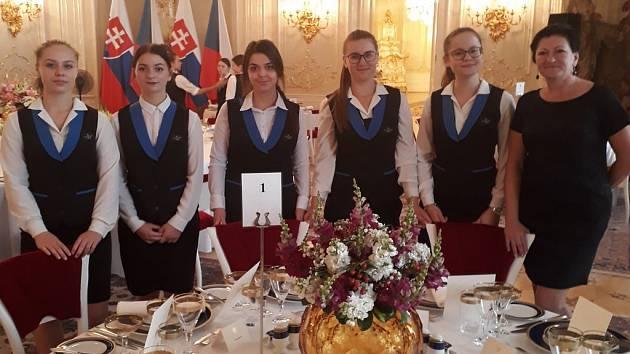 Teplická hotelovka obsluhovala na Hradě slovenskou prezidentku.