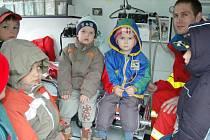 Za dětmi přijela záchranka a městská policie