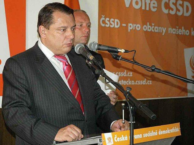 Jiří Paroubek, poslanec a bývalý šéf ČSSD