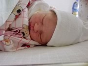Eliška Strnadová se narodila Markétě Zulegerové z Krupky 19. dubna v 15.08 v teplické porodnici. Měřila 48 cm a vážila 2,5 kg.