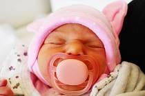 Lenka Karásková se narodila Lence Karáskové  zTeplic 7.června v2,18 hodin v teplické porodnici. Měřila 47 cm, vážila 2,18 kg.