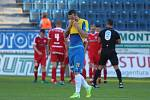 BLAMÁŽ. Teplickým fotbalistům se sobotní duel s Brnem vůbec nepovedl, doma ostudně prohráli 1:4.