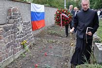 Pietní akt věnovaný 75. výročí od smrti 21 sovětských vojáků v Teplicích